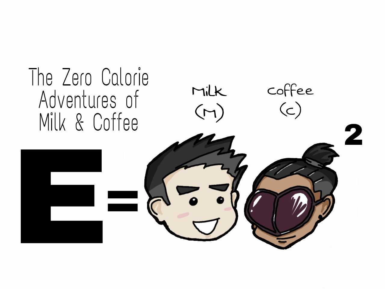 The Zero Calorie Adventures of Milk & Coffee